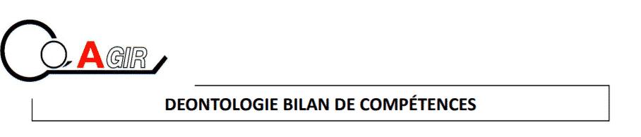 charte du bilan de compétence partie 1.